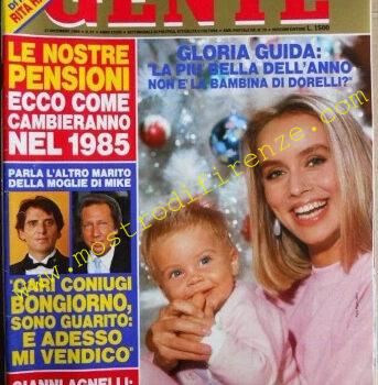 <b>10 Settembre 1985 Gente n°51 21 dicembre 1984</b>