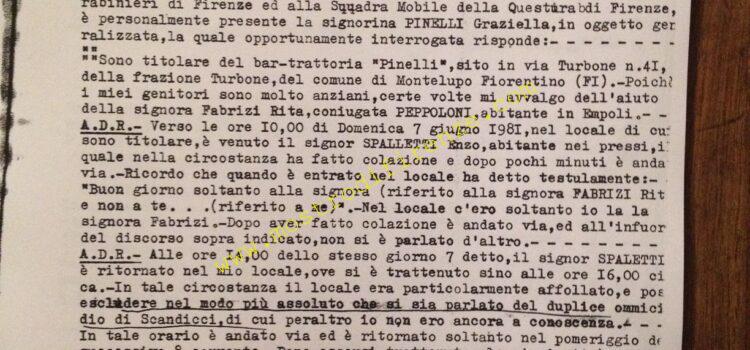 <b>12 Giugno 1981 Testimonianza di Graziella Pinelli</b>