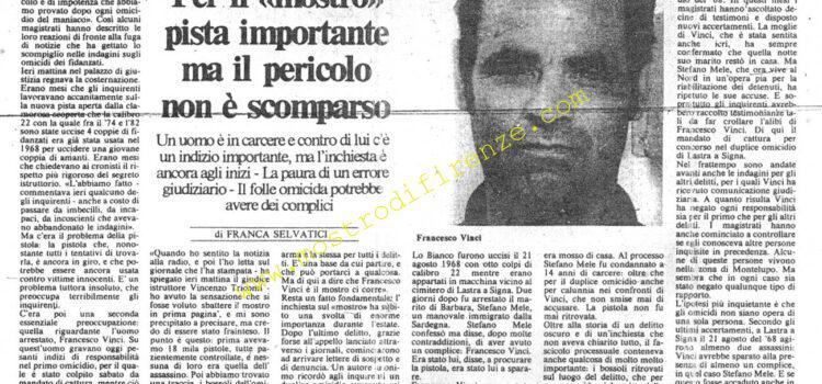 <b>9 Settembre 1982 Stampa: La Città</b>