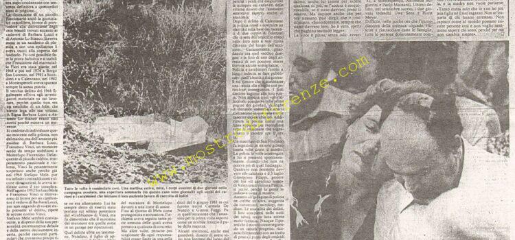 <b>27 Gennaio 1984 Stampa: La Nazione</b>