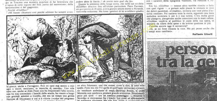<b>29 Settembre 1981 Stampa: La Nazione</b>