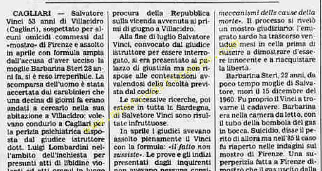 <b>9 Dicembre 1988 Stampa: La Stampa</b>