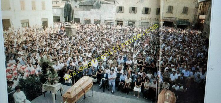 <b>31 Luglio 1984 Funerali di Pia Rontini e Claudio Stefanacci</b