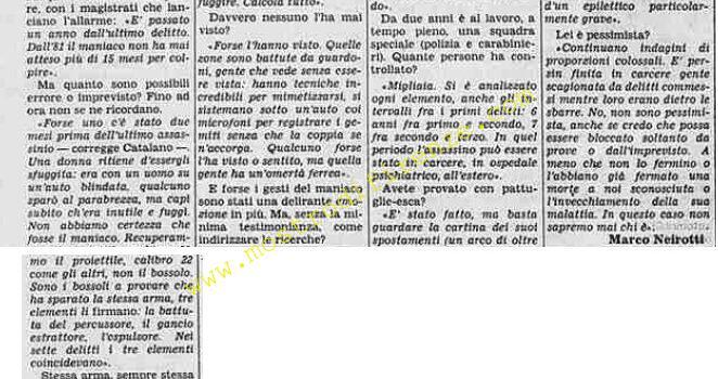 <b>1 Agosto 1985 Stampa: La Stampa</b>