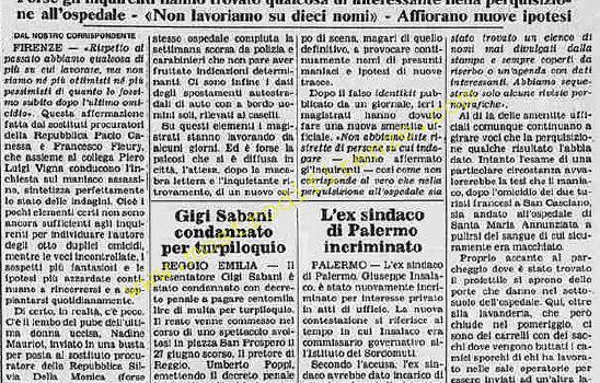 <b>2 Ottobre 1985 Stampa: La Stampa</b>