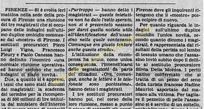 <b>5 Novembre 1985 Stampa: La Stampa</b>