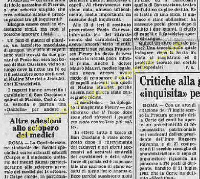 <b>5 Ottobre 1985 Stampa: La Stampa</b>