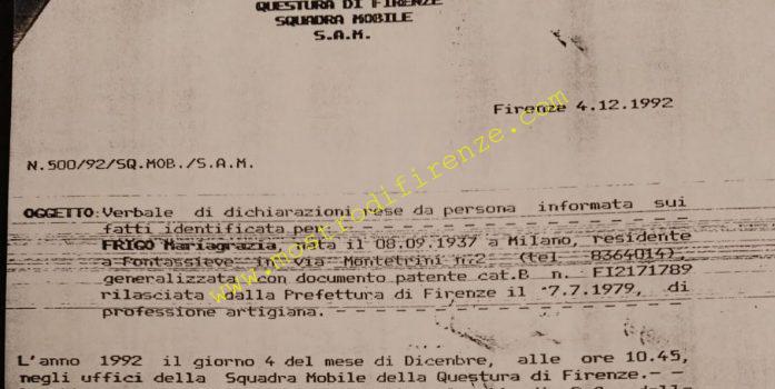 <b>4 Dicembre 1992 Testimonianza di Mariagrazia Frigo</b>