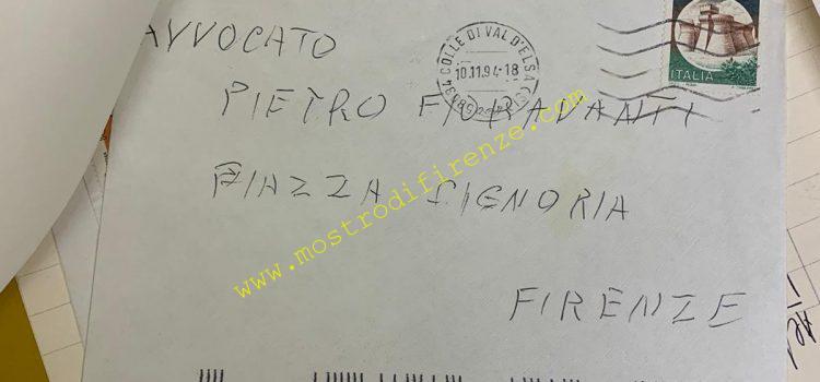<b>10 Novembre 1994 Lettera anonima inviata a Pietro Fioravanti</b>