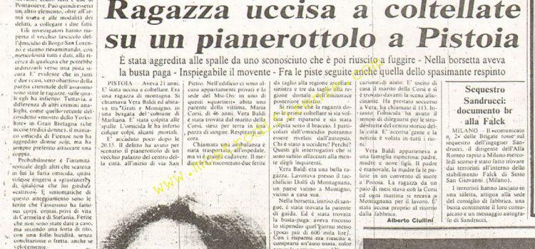 <b>11 Giugno 1981 Stampa: La Nazione</b>
