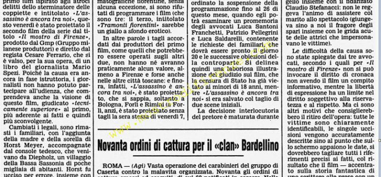 <b>16 Febbraio 1986 Stampa: Corriere della Sera</b>