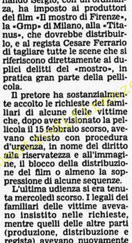 <b>4 Marzo 1986 Stampa: Corriere della Sera</b>