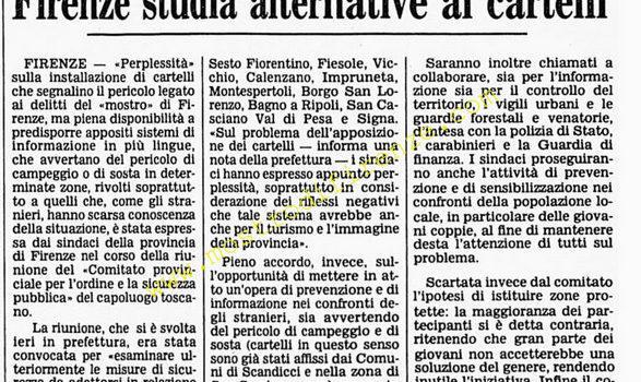 <b>25 Aprile 1986 Stampa: Corriere della Sera</b>