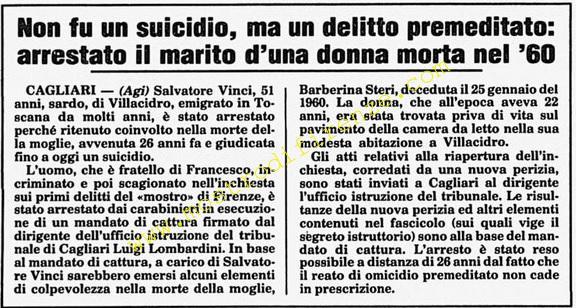 <b>14 Giugno 1986 Stampa: Corriere della Sera</b>