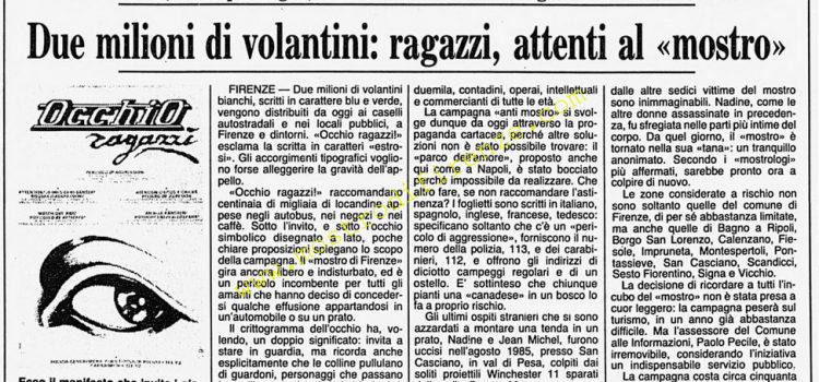 <b>18 Giugno 1986 Stampa: Corriere della Sera</b>