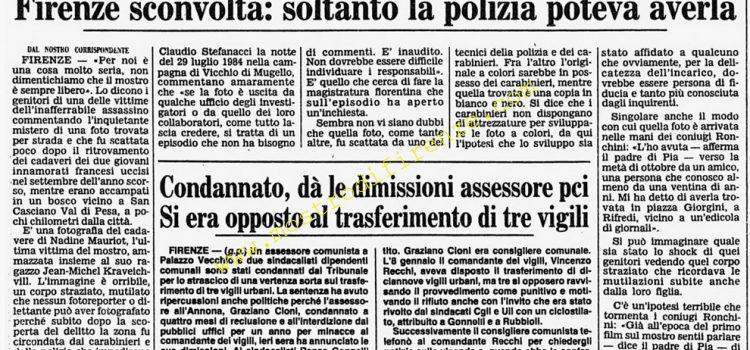 <b>26 Novembre 1986 Stampa: Corriere della Sera</b>
