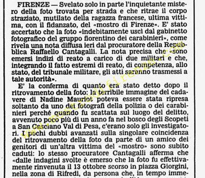 <b>3 Dicembre 1986 Stampa: Corriere della Sera</b>