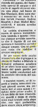 <b>9 Ottobre 1985 Stampa: La Stampa</b>