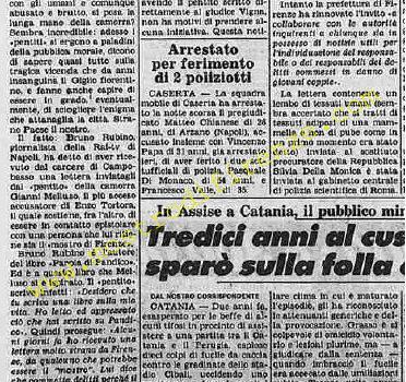 <b>10 Ottobre 1985 Stampa: La Stampa</b>