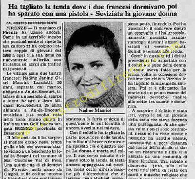 <b>10 Settembre 1985 Stampa: La Stampa</b>