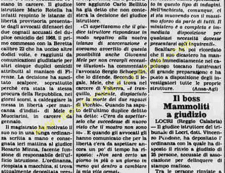 <b>15 Agosto 1984 Stampa: La Stampa</b>