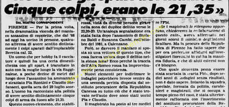 <b>18 Agosto 1984 Stampa: La Stampa</b>