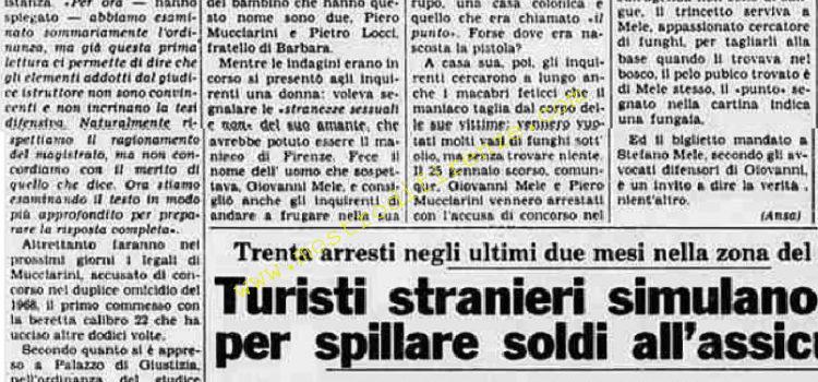 <b>24 Agosto 1984 Stampa: La Stampa</b>