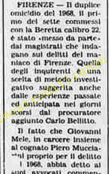 <b>25 Agosto 1984 Stampa: La Stampa</b>