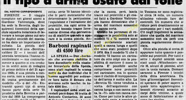 <b>26 Agosto 1984 Stampa: La Stampa</b>