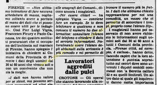 <b>28 Agosto 1984 Stampa: La Stampa</b>