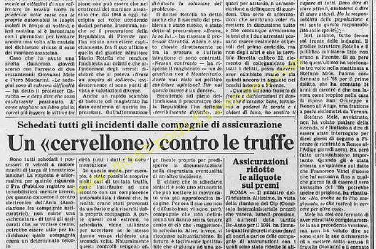 <b>29 Gennaio 1984 Stampa: La Stampa</b>