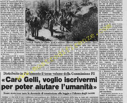 <b>31 Luglio 1984 Stampa: La Stampa</b>