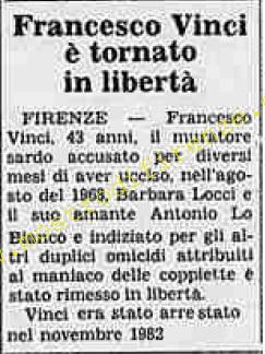 <b>10 Ottobre 1984 Stampa: La Stampa</b>