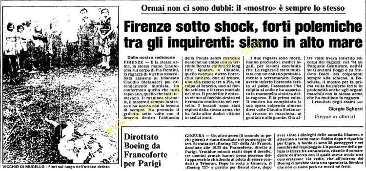 <b>1 Agosto 1984 Stampa: L'Unità</b>