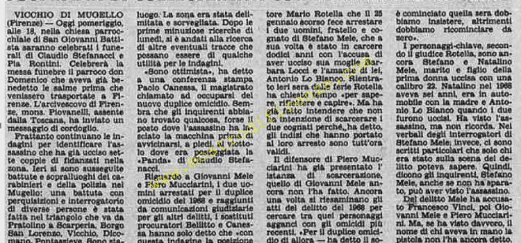 <b>1 Agosto 1984 Stampa: Stampa Sera</b>