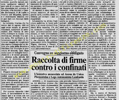 <b>3 Settembre 1984 Stampa: Stampa Sera</b>