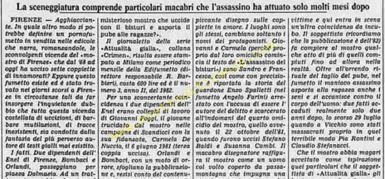 <b>5 Novembre 1984 Stampa: Stampa Sera</b>