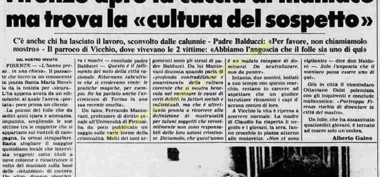 <b>6 Agosto 1984 Stampa: Stampa Sera</b>
