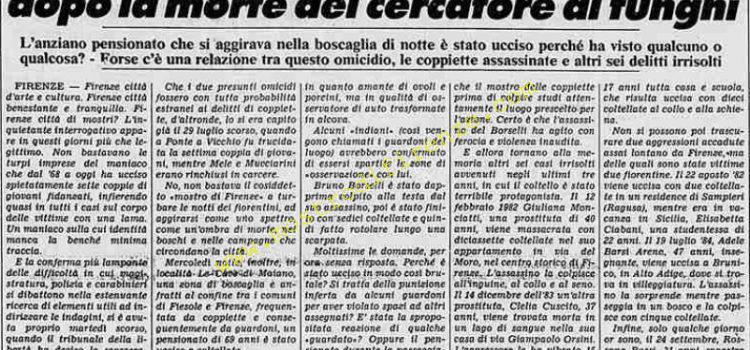 <b>8 Ottobre 1984 Stampa: Stampa Sera</b>