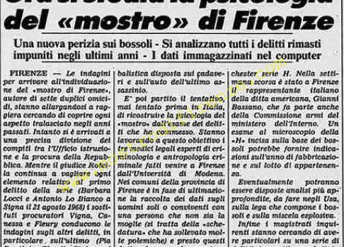 <b>10 Settembre 1984 Stampa: Stampa Sera</b>