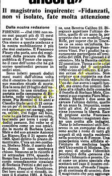 <b>28 Luglio 1985 Stampa: L'Unità</b>
