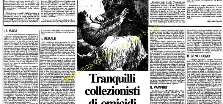 <b>15 Settembre 1985 Stampa: L'Unità</b>