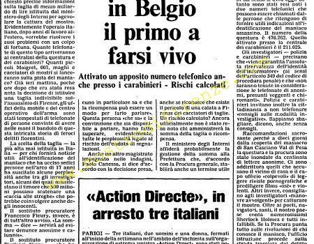 <b>20 Settembre 1985 Stampa: L'Unità</b>