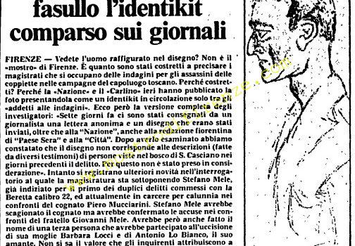 <b>22 Settembre 1985 Stampa: L'Unità</b>