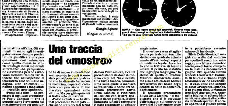 <b>28 Settembre 1985 Stampa: L'Unità</b>