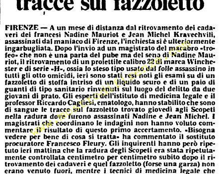 <b>9 Ottobre 1985 Stampa: L'Unità</b>