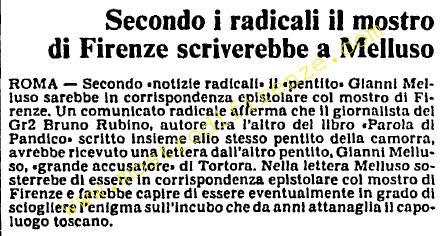 <b>10 Ottobre 1985 Stampa: L'Unità</b>