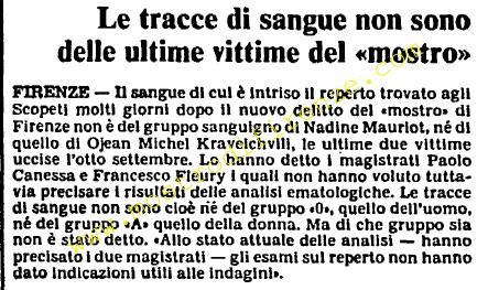 <b>11 Ottobre 1985 Stampa: L'Unità</b>