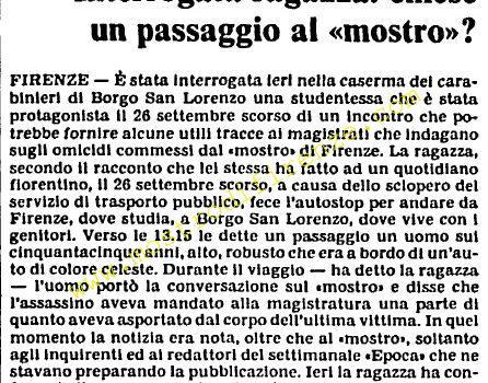 <b>19 Ottobre 1985 Stampa: L'Unità</b>