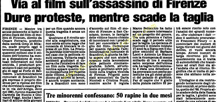 <b>19 Novembre 1985 Stampa: L'Unità</b>